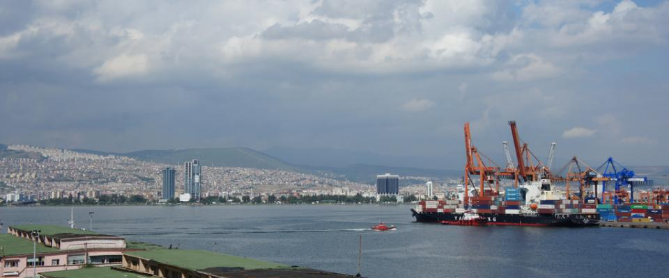 Port of Izmir Turkey